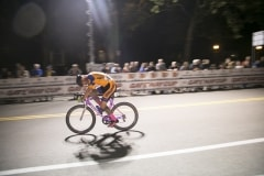 a_solo_rider_takes_a_flyer_in_the_men's_race